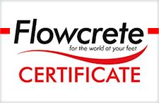 Madera FlowCrete Certificate 2020